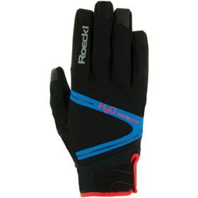 Roeckl Rhone Pyöräilyhanskat, black/blue